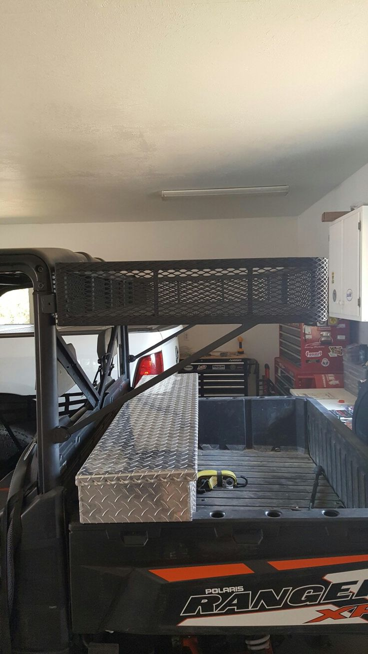 Polaris ranger rack high mount