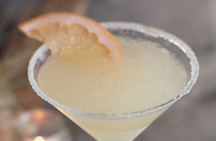 Fresh Grapefruit Martini at Bonefish Grill