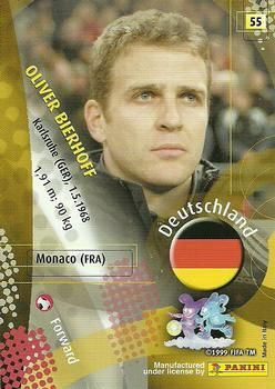 2002 Panini World Cup #55 Oliver Bierhoff Back