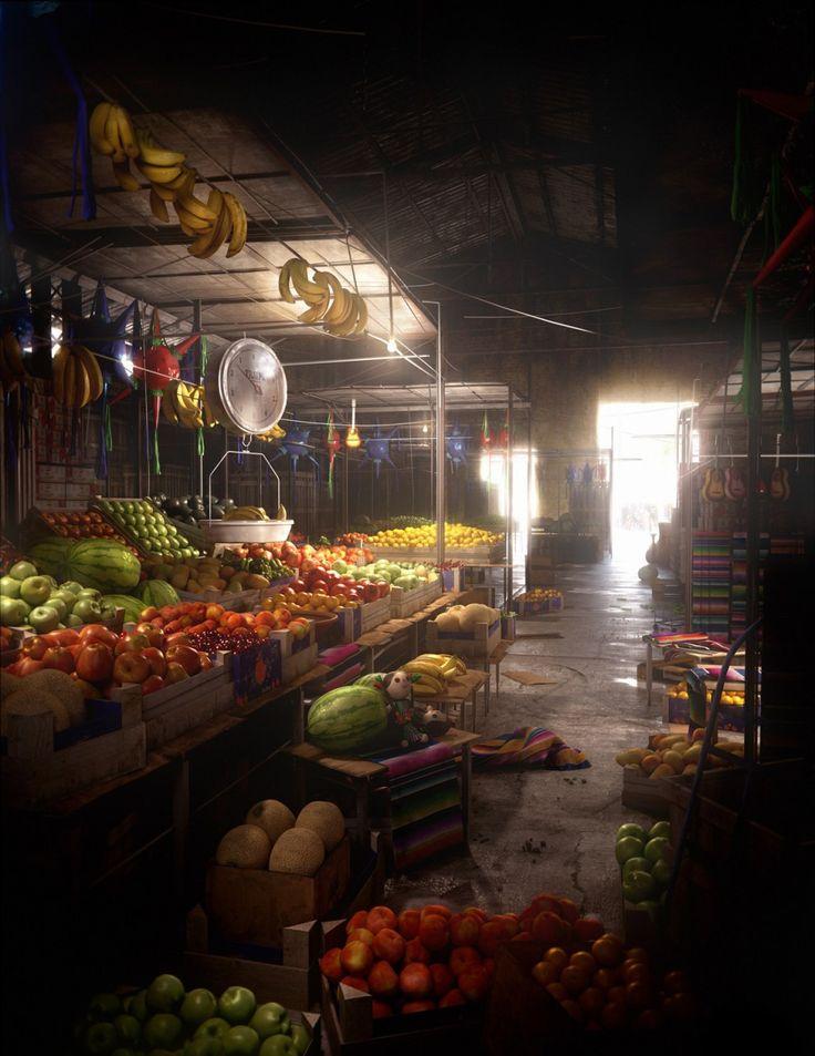 Mercado  San Juan de Dios Jalisco México