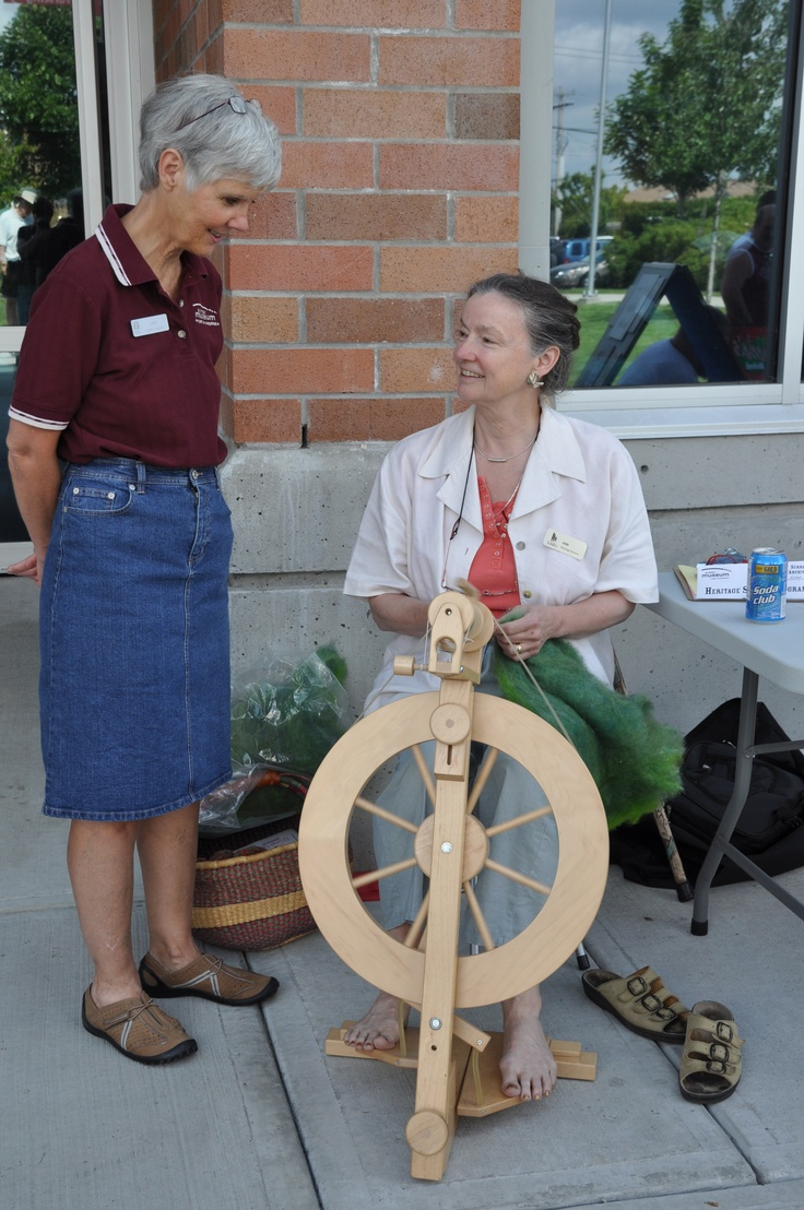 Surrey Museum and Archives, Cloverdale, BC. The centre for many community events. Home to Peace Arch Spinners & Weavers Photo Ursula Maxwell-Lewis