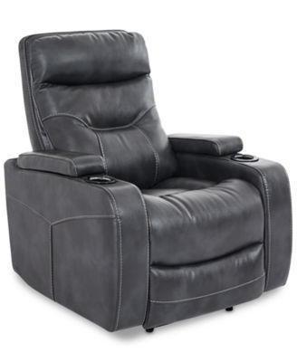 Clancy Fabric Power Recliner Furniture Power Recliners