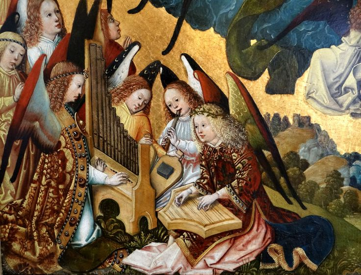 Virgin and Child, 1460s : detail
