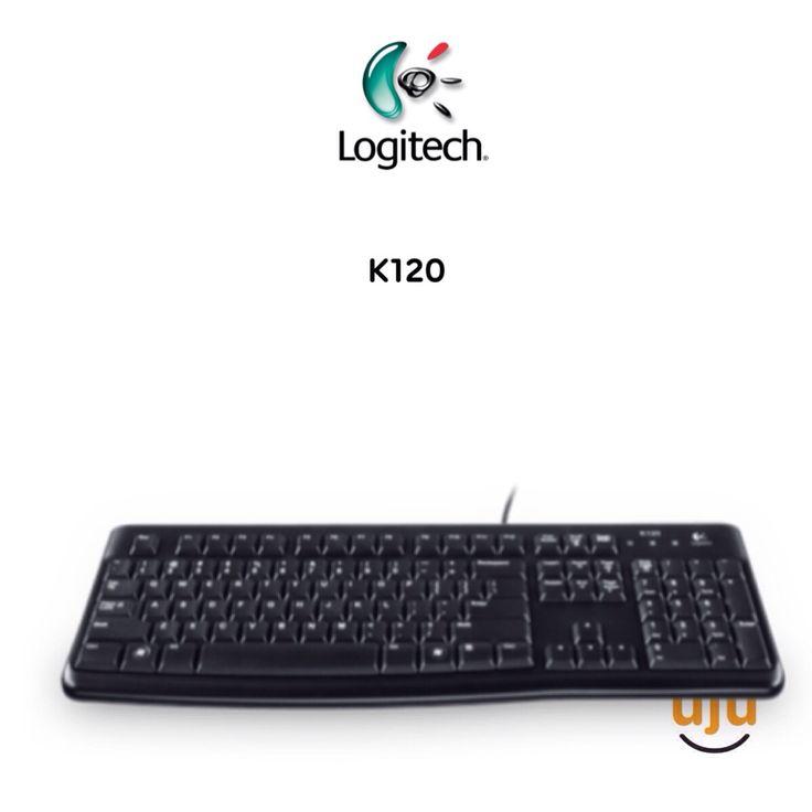 Logitech Classic Keyboard K120 USB IDR 120.000