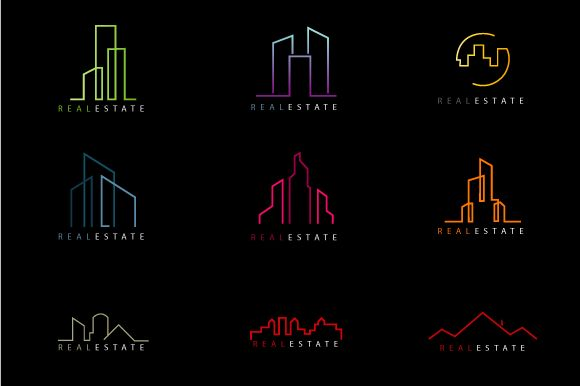 Check out Real Estate Shapes For Logos by lovepower on Creative Market