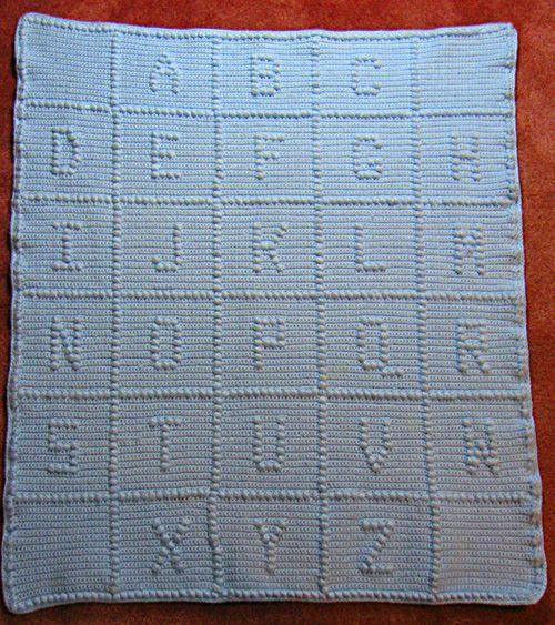 1000+ Ideas About Crochet Alphabet Letters On Pinterest
