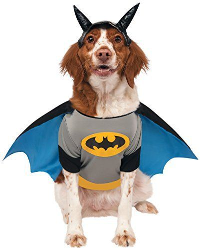 rubies costume dc heroes and villains collection pet costume x large batman spirit halloweenhalloween - Spirits Halloween Alexandria La