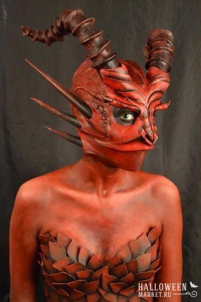 #devil #costume #halloweenmarket #halloween  #дьявол #дьяволица #костюм #образ Костюм дьяволицы на хэллоуин (фото)
