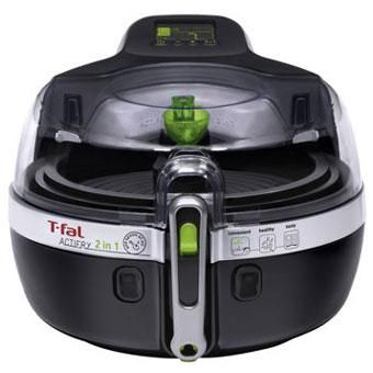 Cook & Fry the Healthy Way! The Actifry 2in1 can cook a wide variety of food from fresh and frozen using little to no oil. With the 2in1, you can cook two meals at once, such as succulent chicken drumsticks on the top, and stir-fried vegetables on the bottom!