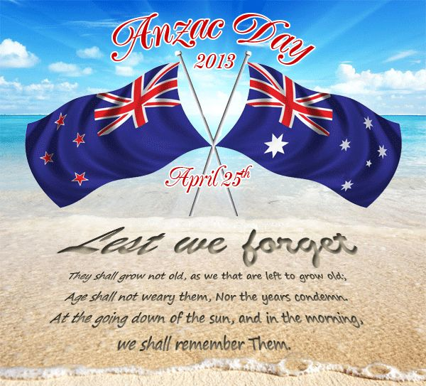 Anzac Day is a national day of remembrance in Australia and New Zealand, originally commemorated by both countries on 25 April every year to honour the members of the Australian and New Zealand Army Corps (ANZAC) who fought at Gallipoli in the Ottoman Empire during World War I.