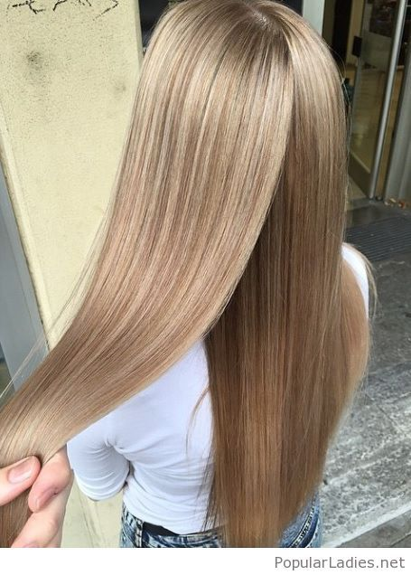 Amazing light honey blonde