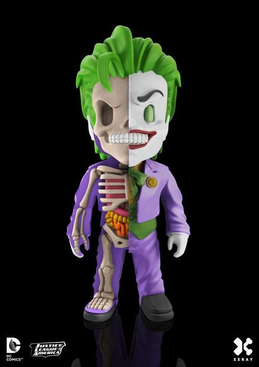 The Joker XXRAY Wave 3 4-inch Figure by MightyJaxx & Jason Freeny PREORDER