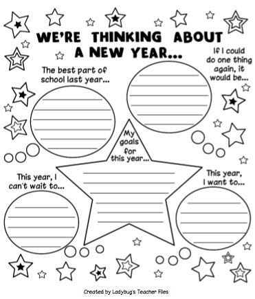 might work for helping kids reflect and think about the coming school year for making hopes and dreams??