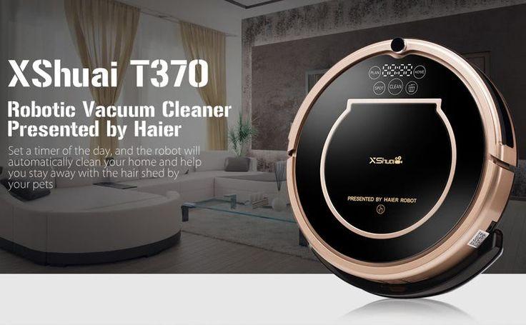 Haier XShuai T370 es un robot limpiador inteligente capaz de ocuparse de la limpieza del hogar o la oficina. Actualmente a un precio excepcional.