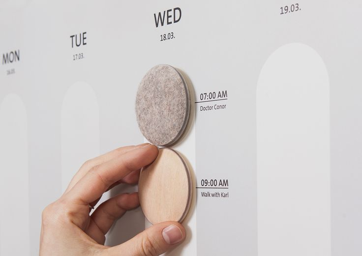 MEMO - tangible appointments on Behance