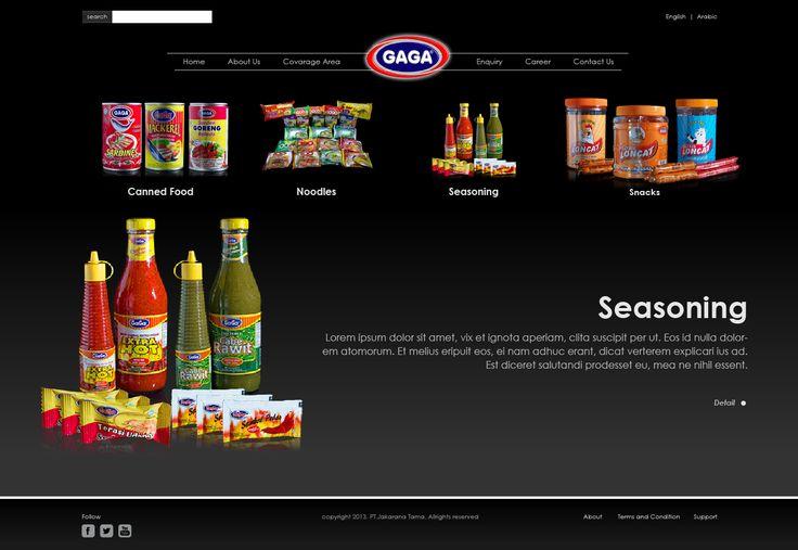 Website Corporate - GAGA Food   PT.Jakarana Tama ver 3.0 - http://www.gagafoods.com #WebDesign #WebDevelopment #GAGAfood #PT_Jakaranatama #Jasa_Pembuatan_Website #WebCorporate