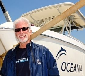 In the last two decades, Ted Danson's stellar acting career has been complimented by his staunch ocean advocacy, appearing in public service announcements, appealing to donors and testifying to the government on the condition of our oceans. He currently sits on Oceana's Board of Directors where he and his wife, actress Mary Steenburgen, continue to fight on our oceans' behalf.