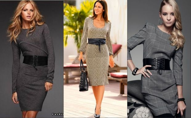 Женские деловые костюмы и офисная мода осень-зима 2015-2016