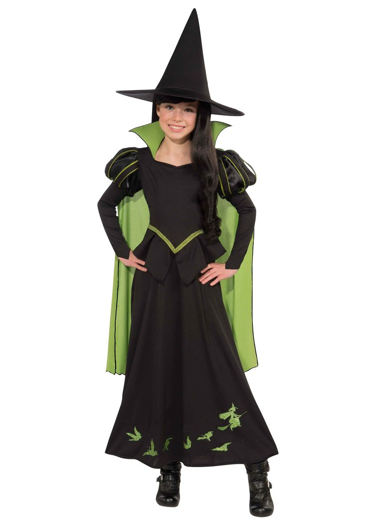 child wicked witch of the west costume - Witch Halloween Costumes For Girls