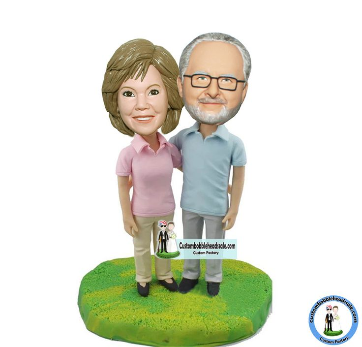 Custome Parents Bobble Heads Anniversary Gifts Find unique Christmas presents and gift ideas for men, women and kids at Custom Bobbleheads.
