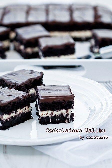 Ekstremalnie czekoladowe ciasto Czekoladowe Malibu