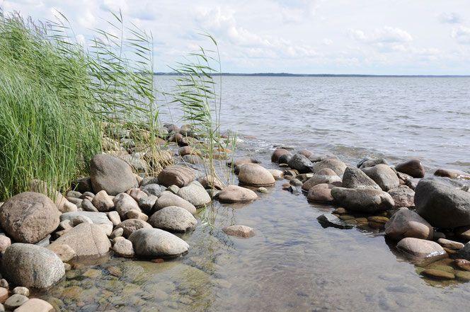 Vänern-See in Schweden.