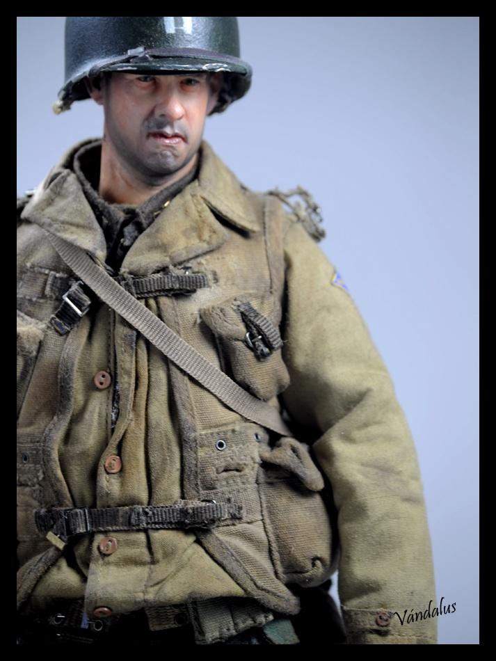 WW2 1/6 diorama. CAPT John Miller, Saving Private Ryan.