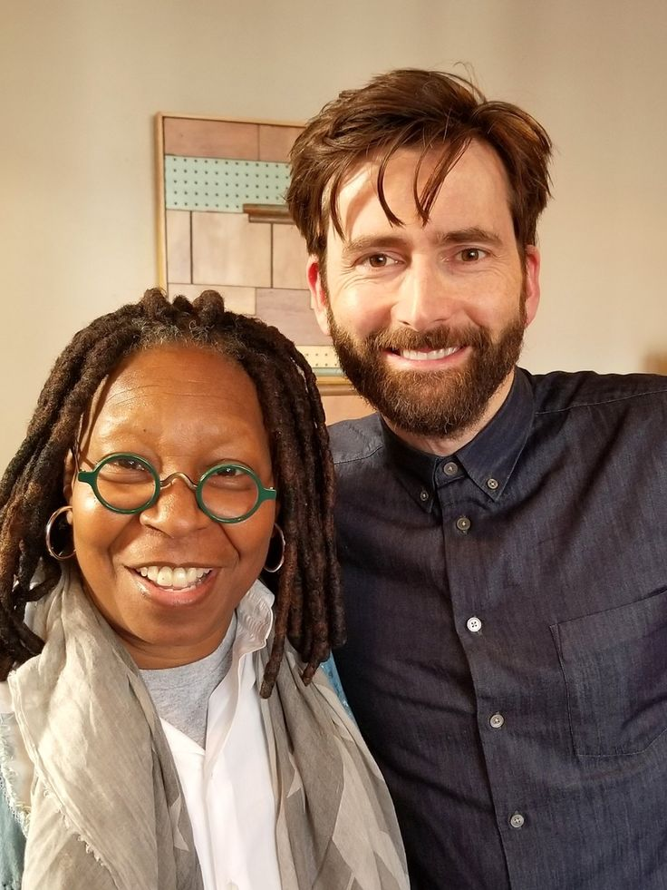 David Tennant does a podcast with Whoopi Goldberg David
