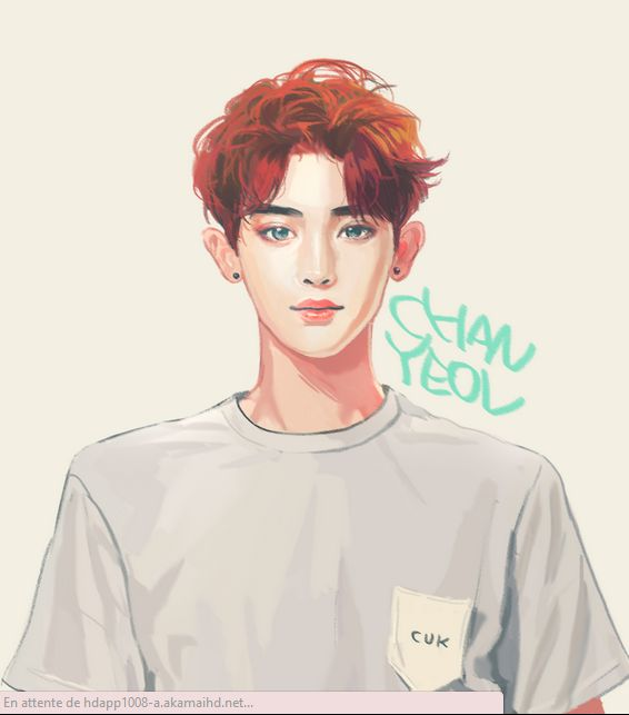 Chanyeol EXO fanart for Stardium