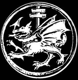 """The Order of the Dragon Crest. Dracul was a title given to Vlad II from """"the order of the Dragon """" created to defend Christianity from the Ottoman. The order was founded in 1408 by Sigismund, King of Hungary. In Latin it is Societas Draconistarum. This is where the title """"dracul"""" comes from. The word Dracul in Romania translates to """"old gentlemen or evil one."""" Meaning comes from intent. Vlad III is the son of the Dragon."""