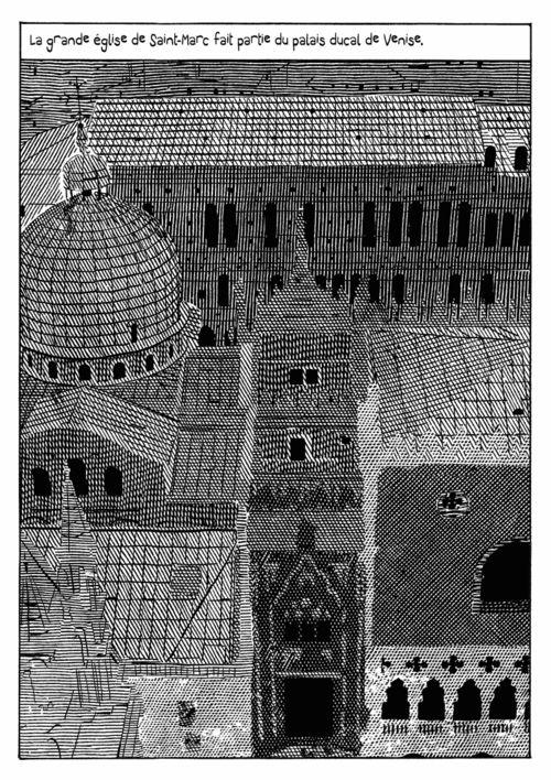 Casanova, Histoire de ma fuite des prisons de la République de Venise qu'on appelle les Plombs - Giacomo Nanni - 2012  Source: Giacomo Nanni