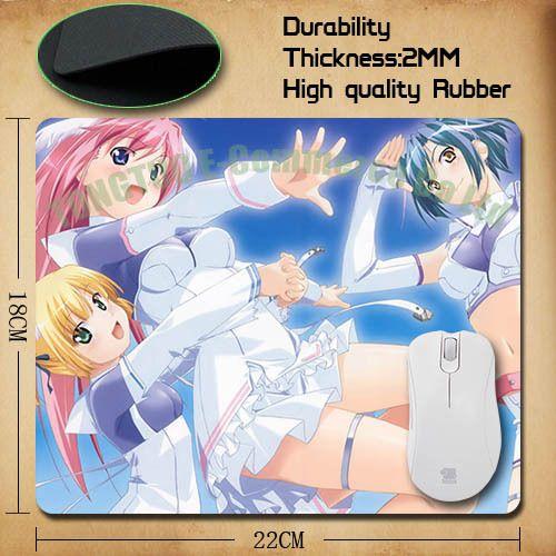 2015 горячее надувательство Ха Ах аниме девушка фон оптический коврик для мыши/компьютерный коврик для мыши