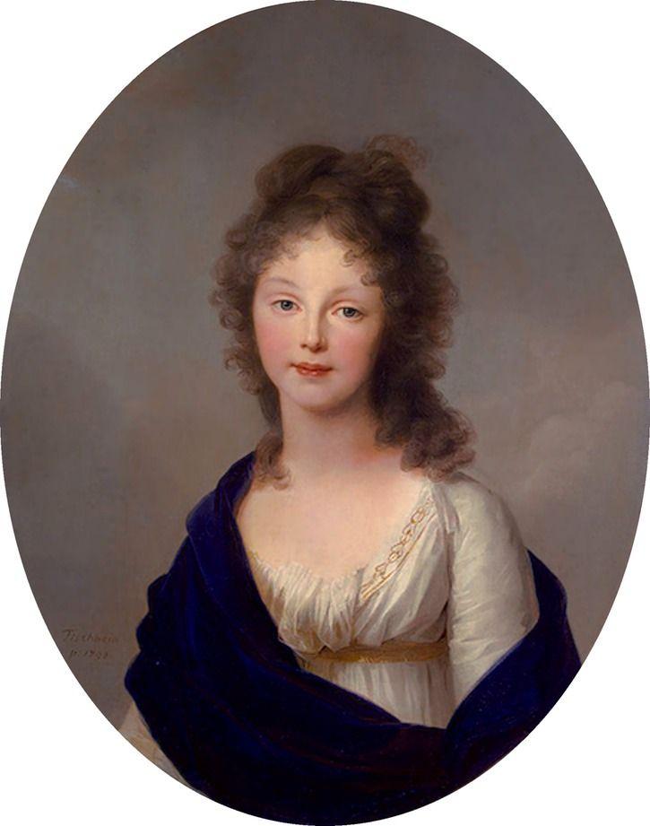 1798 Queen Luise of Prussia by Johann Heinrich Wilhelm Tischbein (Hermitage) | Grand Ladies | gogm