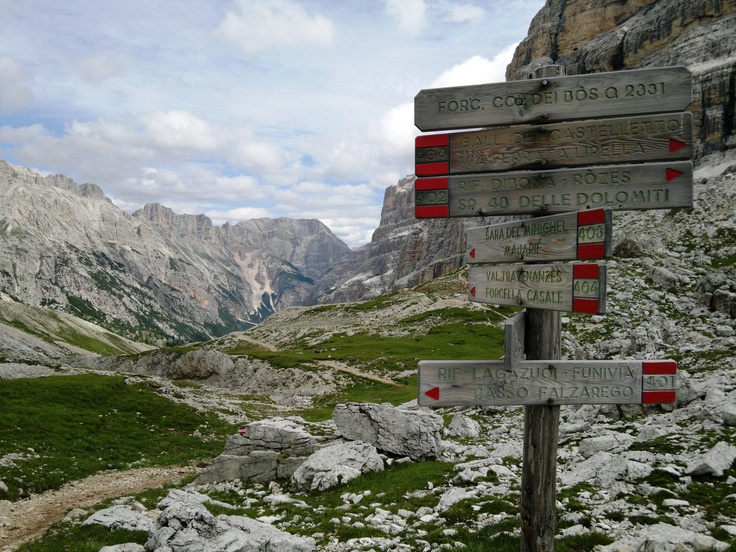 My hiking photos: Cortina D'Ampezzo, Italy