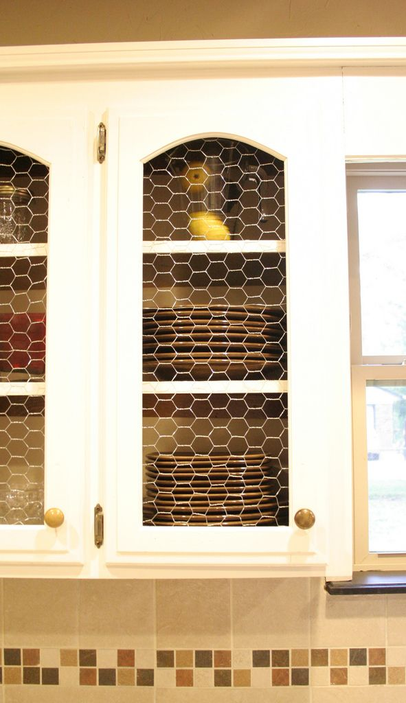 chicken wire kitchen cabinets 35 best images about diy cabinet refacing on 13533