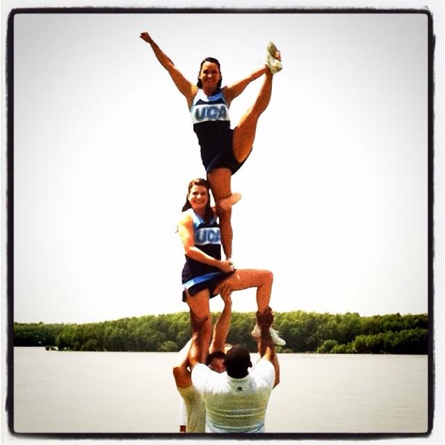 Amazing! #uca #cheer #cheerleading