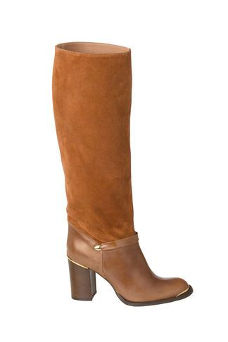 Thea Leather Boots, Cognac