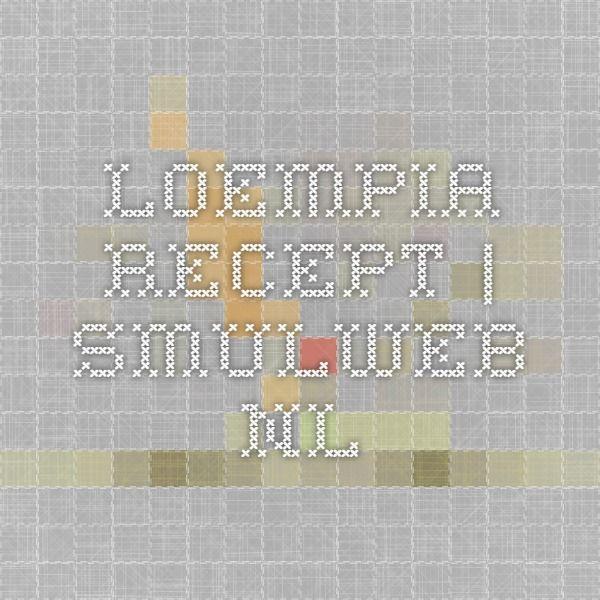 Loempia recept | Smulweb.nl