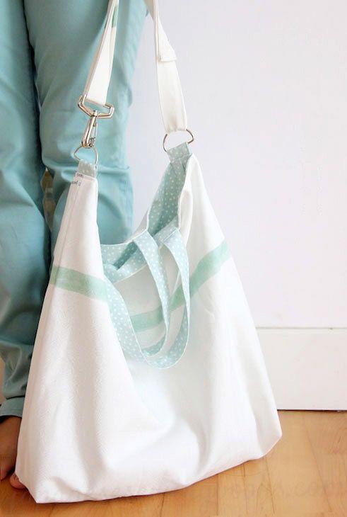 Reversible Shoulder Bag / Tote Tutorial