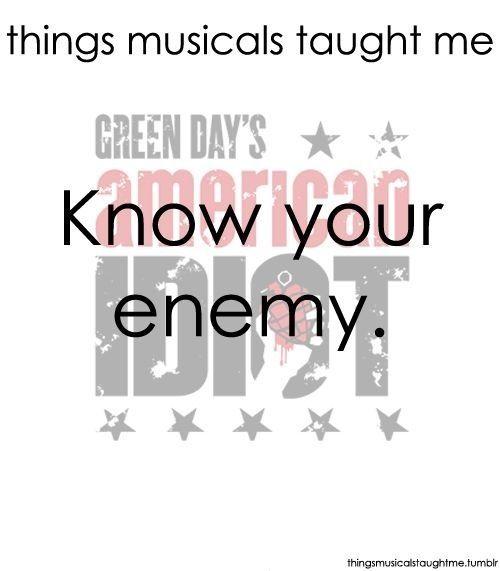 american idiot musical script pdf