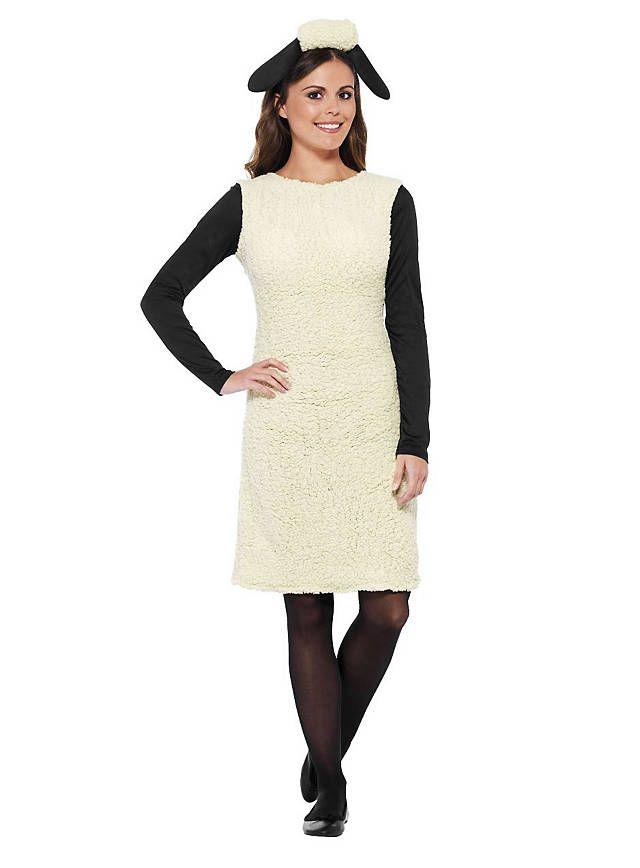 Shaun das Schaf Kleid >> Tierkostüm für Damen online bestellen!