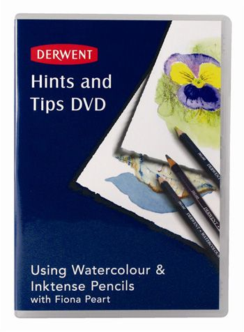 Derwent Inktense Pencil : Hints and Tips DVD - Derwent - Discount Art Materials from Jacksons Art Supplies