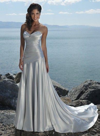 34 best Beach wedding dresses images on Pinterest | Short wedding ...