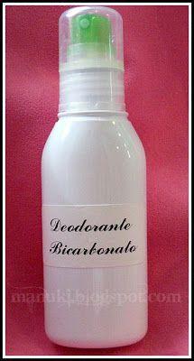 Appunti di Spignatto: Deodorante Spray n.1
