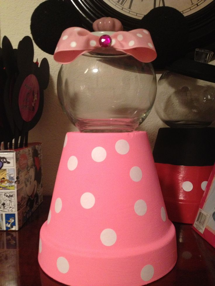 My Mickey Gumball Machine Minnie Mouse Decors
