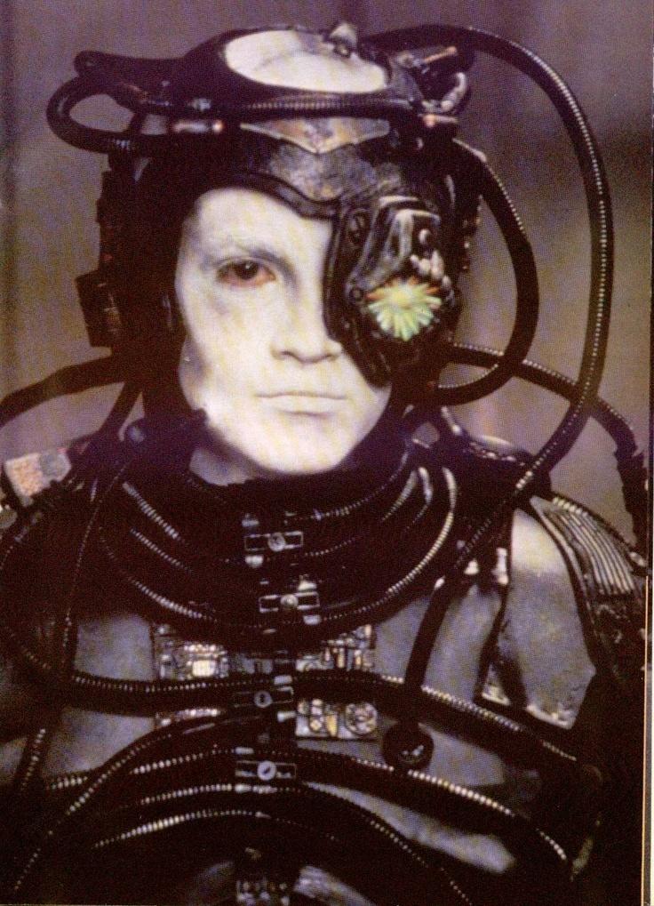 Star Trek Borg, Hue, a very interesting character, .......