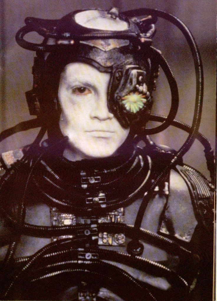 Star Trek Borg, Hue, a very interesting character, .......