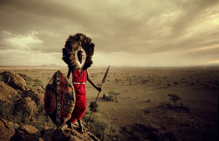 【人々 人們 people】 イギリスの写真家が出会った、世界の「少数民族」MASAI-1302. マサイ族 (アフリカ)Licensed material used with permission by © Jimmy Nelson Pictures B.V (Twitter),(Instagram)