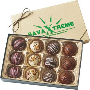 12 Piece Truffle Gift Box