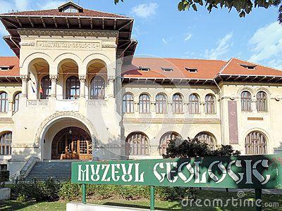 Geological museum in Bucharest, Romania